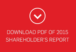 Download PDF of 2015 shareholder's report
